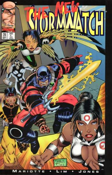 Stormwatch #28 cheap bargain discounted comic books Stormwatch #28 comic books