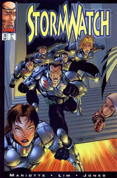 Stormwatch #29 cheap bargain discounted comic books Stormwatch #29 comic books