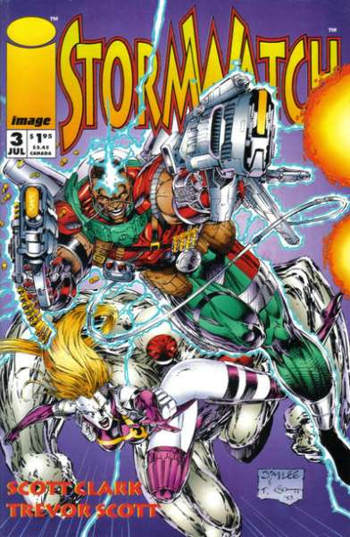 Stormwatch #3 comic books for sale