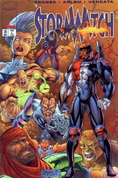 Stormwatch #30 cheap bargain discounted comic books Stormwatch #30 comic books