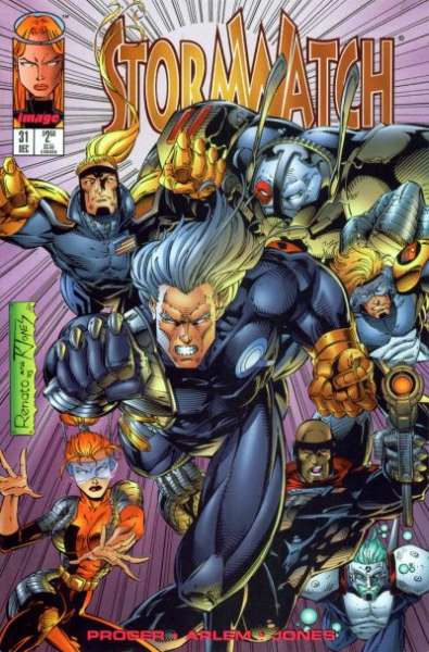 Stormwatch #31 cheap bargain discounted comic books Stormwatch #31 comic books