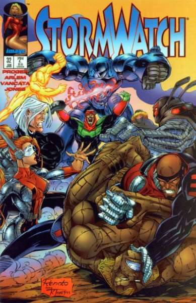 Stormwatch #32 comic books - cover scans photos Stormwatch #32 comic books - covers, picture gallery
