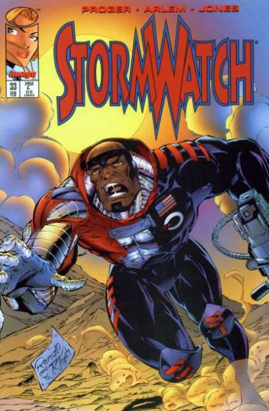 Stormwatch #33 comic books for sale