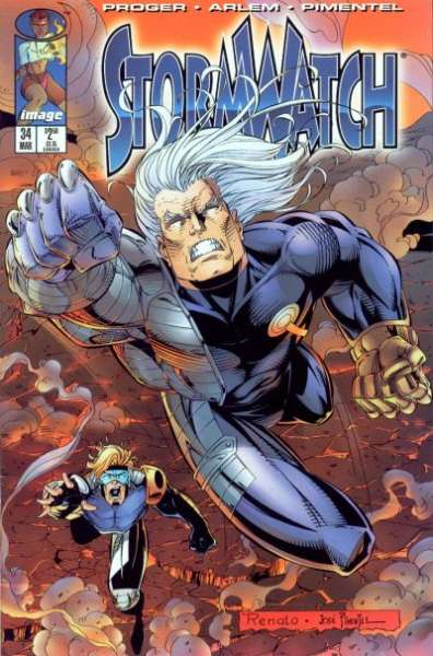 Stormwatch #34 cheap bargain discounted comic books Stormwatch #34 comic books