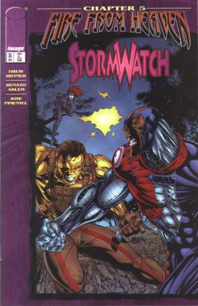 Stormwatch #35 cheap bargain discounted comic books Stormwatch #35 comic books