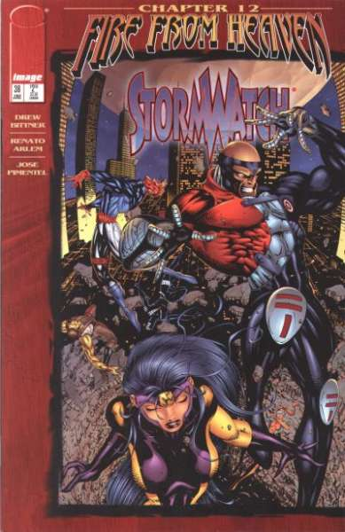 Stormwatch #36 Comic Books - Covers, Scans, Photos  in Stormwatch Comic Books - Covers, Scans, Gallery