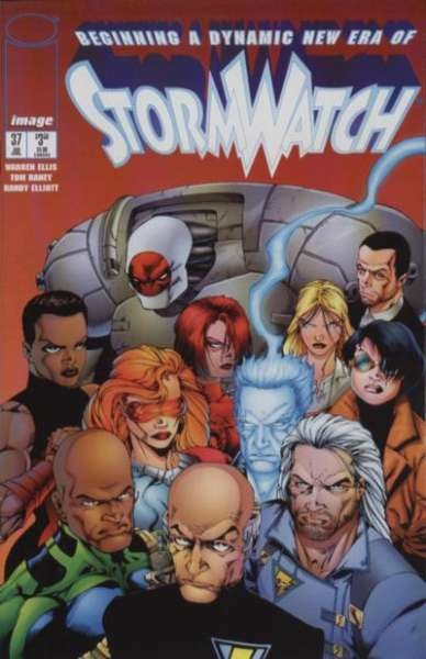 Stormwatch #37 Comic Books - Covers, Scans, Photos  in Stormwatch Comic Books - Covers, Scans, Gallery