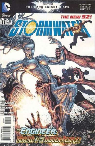 Stormwatch #11 comic books - cover scans photos Stormwatch #11 comic books - covers, picture gallery