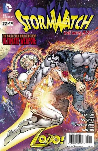 Stormwatch #22 comic books - cover scans photos Stormwatch #22 comic books - covers, picture gallery