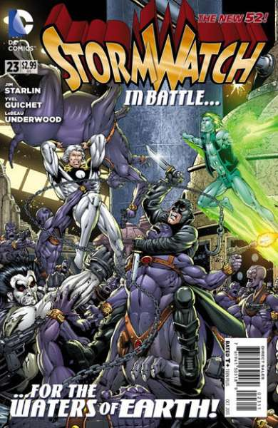 Stormwatch #23 comic books for sale