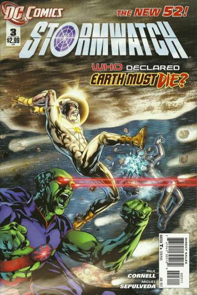 Stormwatch #3 comic books - cover scans photos Stormwatch #3 comic books - covers, picture gallery