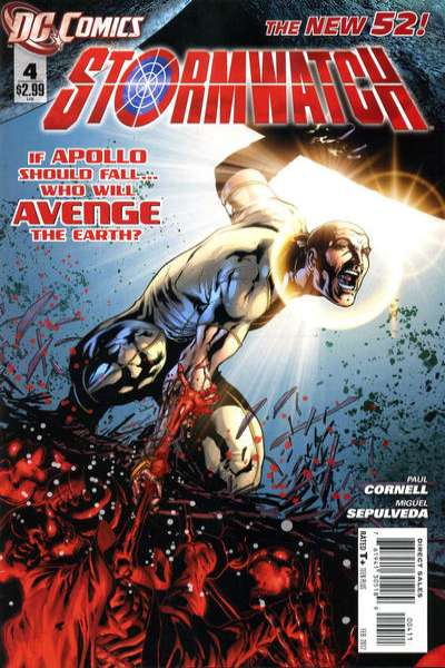 Stormwatch #4 comic books - cover scans photos Stormwatch #4 comic books - covers, picture gallery