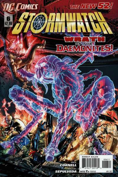 Stormwatch #6 Comic Books - Covers, Scans, Photos  in Stormwatch Comic Books - Covers, Scans, Gallery