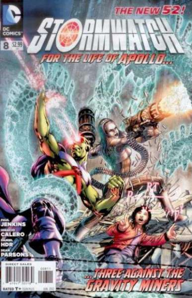 Stormwatch #8 comic books for sale
