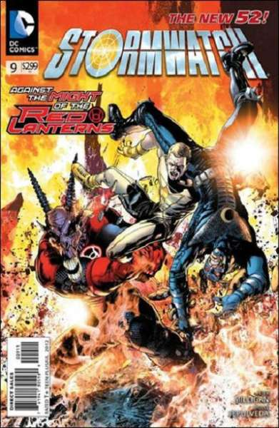 Stormwatch #9 Comic Books - Covers, Scans, Photos  in Stormwatch Comic Books - Covers, Scans, Gallery