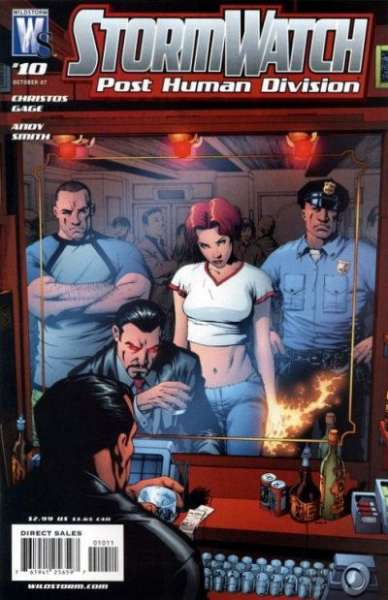 Stormwatch: Post Human Division #10 comic books - cover scans photos Stormwatch: Post Human Division #10 comic books - covers, picture gallery