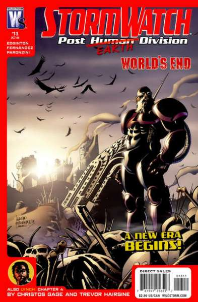 Stormwatch: Post Human Division #13 Comic Books - Covers, Scans, Photos  in Stormwatch: Post Human Division Comic Books - Covers, Scans, Gallery
