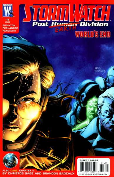 Stormwatch: Post Human Division #14 comic books for sale