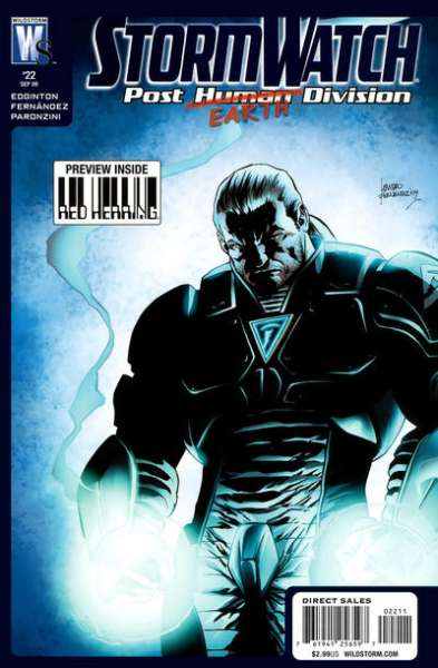 Stormwatch: Post Human Division #22 comic books - cover scans photos Stormwatch: Post Human Division #22 comic books - covers, picture gallery