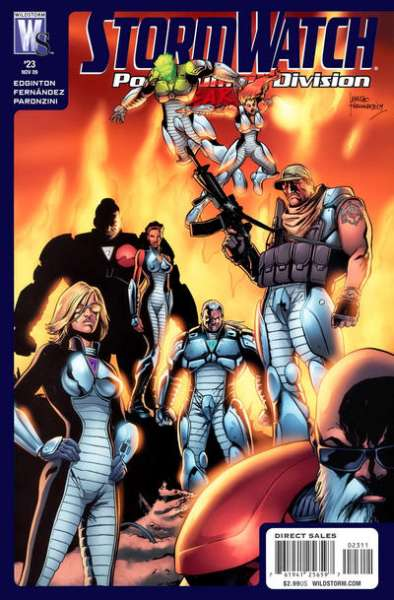 Stormwatch: Post Human Division #23 comic books - cover scans photos Stormwatch: Post Human Division #23 comic books - covers, picture gallery