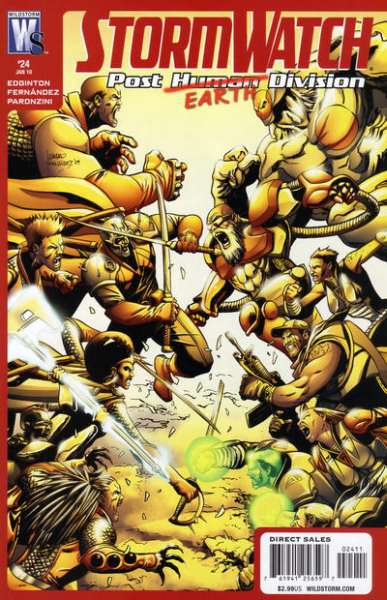 Stormwatch: Post Human Division #24 comic books - cover scans photos Stormwatch: Post Human Division #24 comic books - covers, picture gallery
