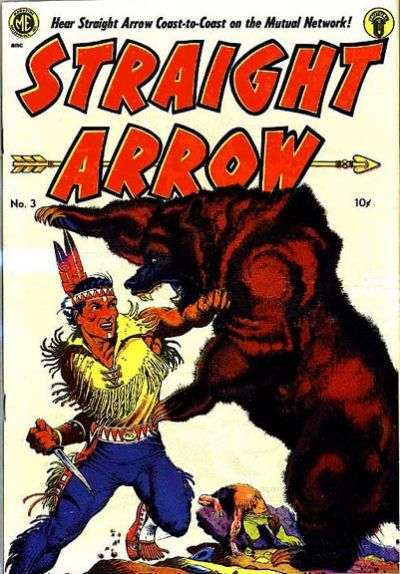 Straight Arrow #3 comic books for sale