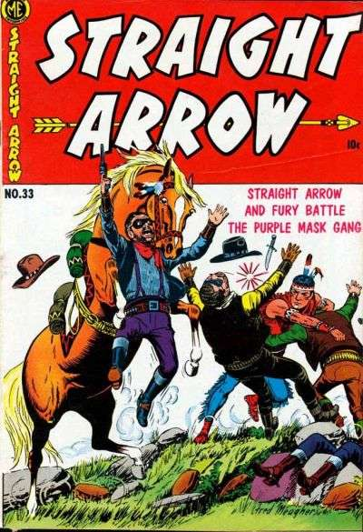 Straight Arrow #33 comic books - cover scans photos Straight Arrow #33 comic books - covers, picture gallery