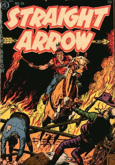 Straight Arrow #36 comic books - cover scans photos Straight Arrow #36 comic books - covers, picture gallery