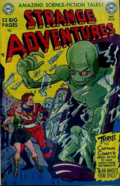 Strange Adventures #10 Comic Books - Covers, Scans, Photos  in Strange Adventures Comic Books - Covers, Scans, Gallery