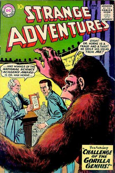 Strange Adventures #117 Comic Books - Covers, Scans, Photos  in Strange Adventures Comic Books - Covers, Scans, Gallery