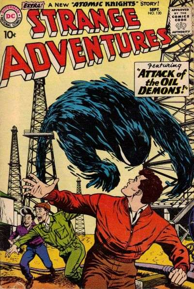 Strange Adventures #120 comic books - cover scans photos Strange Adventures #120 comic books - covers, picture gallery