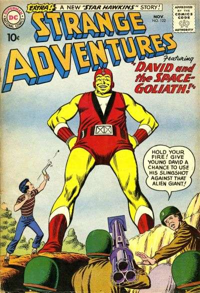 Strange Adventures #122 Comic Books - Covers, Scans, Photos  in Strange Adventures Comic Books - Covers, Scans, Gallery