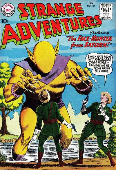 Strange Adventures #124 Comic Books - Covers, Scans, Photos  in Strange Adventures Comic Books - Covers, Scans, Gallery