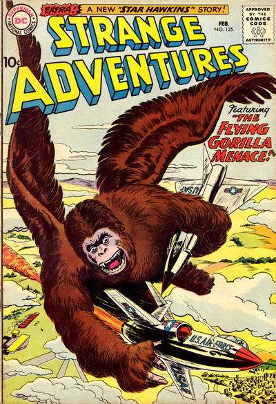 Strange Adventures #125 Comic Books - Covers, Scans, Photos  in Strange Adventures Comic Books - Covers, Scans, Gallery