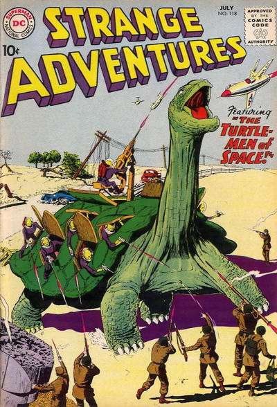 Strange Adventures #126 comic books - cover scans photos Strange Adventures #126 comic books - covers, picture gallery