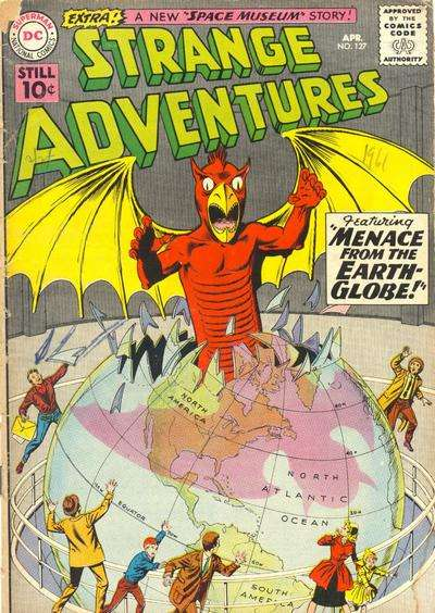 Strange Adventures #127 comic books - cover scans photos Strange Adventures #127 comic books - covers, picture gallery