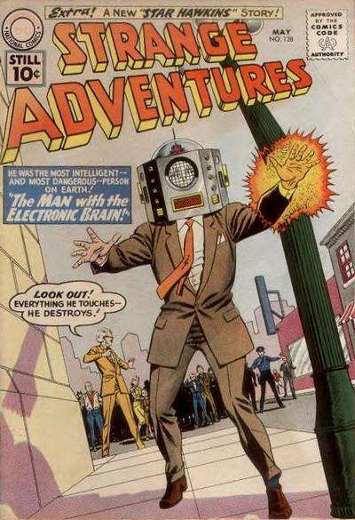 Strange Adventures #128 comic books - cover scans photos Strange Adventures #128 comic books - covers, picture gallery