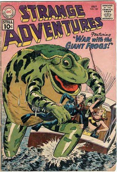 Strange Adventures #130 comic books - cover scans photos Strange Adventures #130 comic books - covers, picture gallery