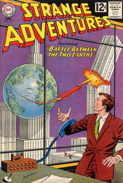 Strange Adventures #141 Comic Books - Covers, Scans, Photos  in Strange Adventures Comic Books - Covers, Scans, Gallery