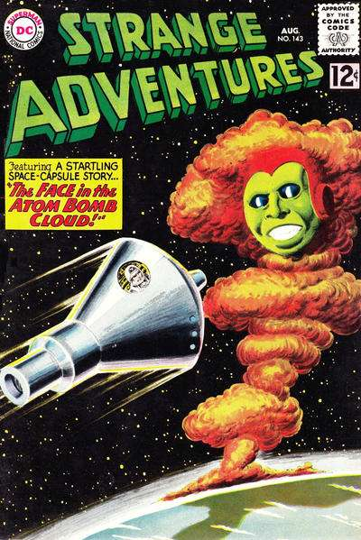 Strange Adventures #143 Comic Books - Covers, Scans, Photos  in Strange Adventures Comic Books - Covers, Scans, Gallery