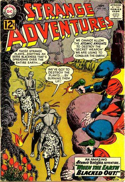 Strange Adventures #144 Comic Books - Covers, Scans, Photos  in Strange Adventures Comic Books - Covers, Scans, Gallery