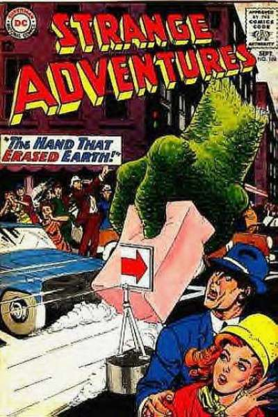 Strange Adventures #168 comic books for sale