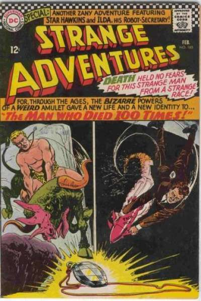 Strange Adventures #185 comic books for sale