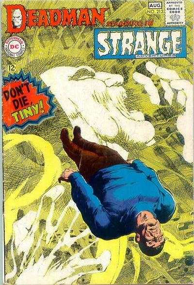 Strange Adventures #213 comic books - cover scans photos Strange Adventures #213 comic books - covers, picture gallery