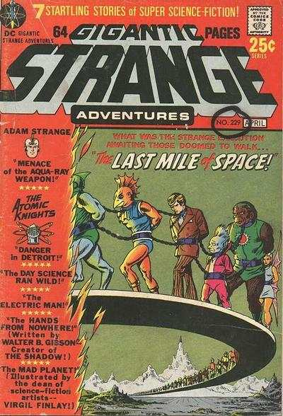 Strange Adventures #229 comic books for sale
