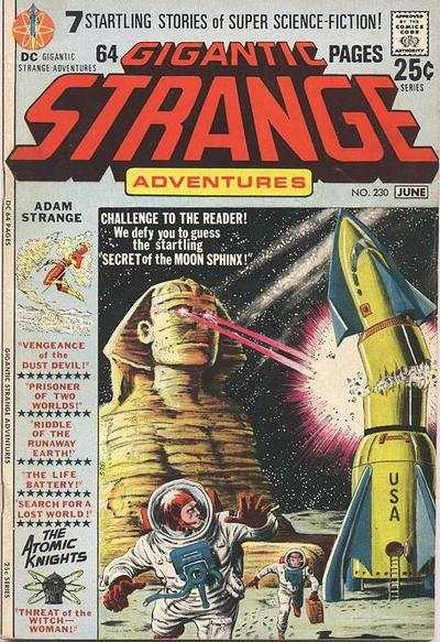 Strange Adventures #230 comic books for sale