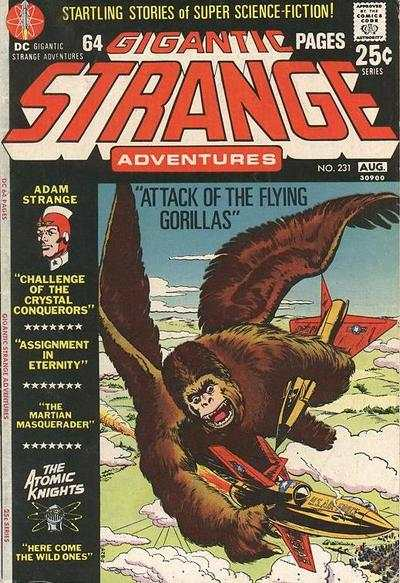 Strange Adventures #231 Comic Books - Covers, Scans, Photos  in Strange Adventures Comic Books - Covers, Scans, Gallery
