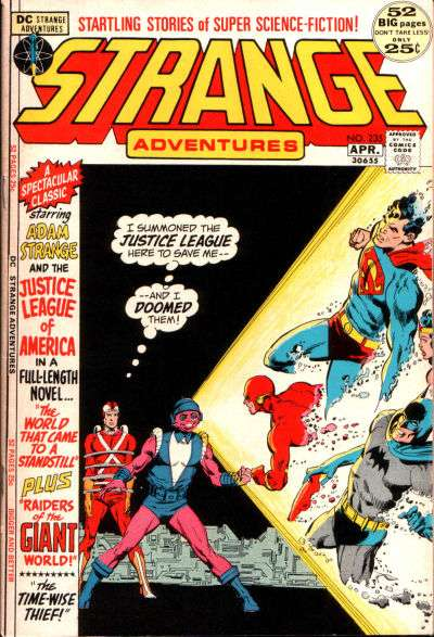 Strange Adventures #235 comic books for sale