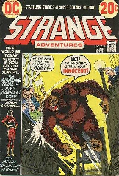 Strange Adventures #239 comic books for sale
