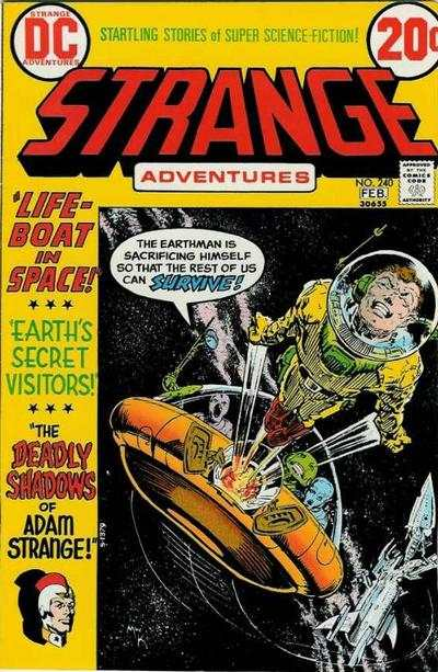 Strange Adventures #240 Comic Books - Covers, Scans, Photos  in Strange Adventures Comic Books - Covers, Scans, Gallery